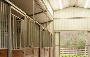 Stall Fronts Custom Barn