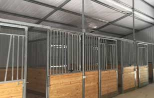 Vented Custom Stall Fronts