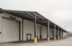 Warehouse Roof Add-on For Delivery Doors